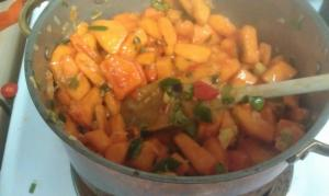 persimmon salsa homemade