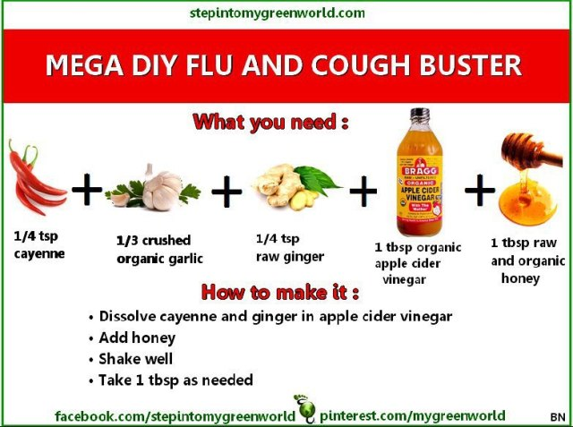 MEGA DIY FLU AND COUGH BUSTER